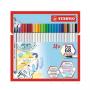 Brush Pen STABILO 68 C/24 Cores