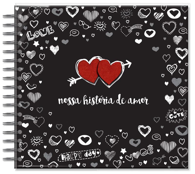 Álbum de Fotos G Nossa História de Amor Fina Ideia