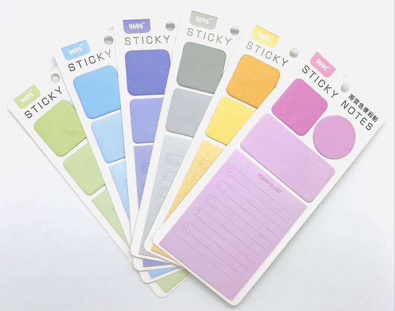Bloco Adesivo Sticky Notes Todays 6 cores