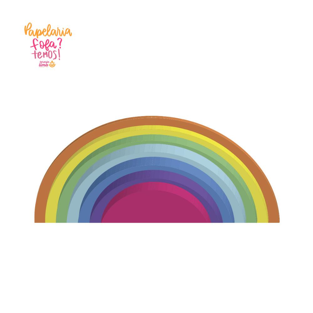 Bloco De Notas Auto Adesivas Rainbow Barbie Tris
