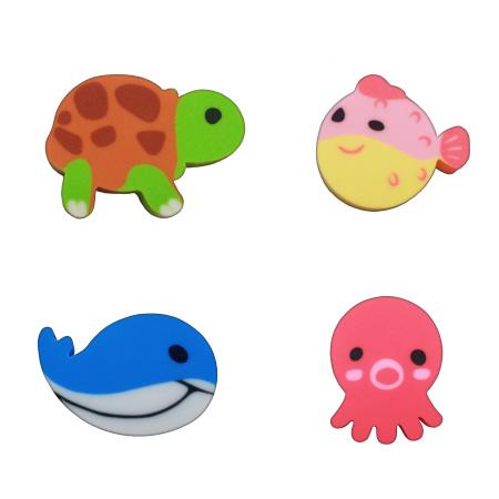 Borracha Mini Bubble Tilibra Kit com 4
