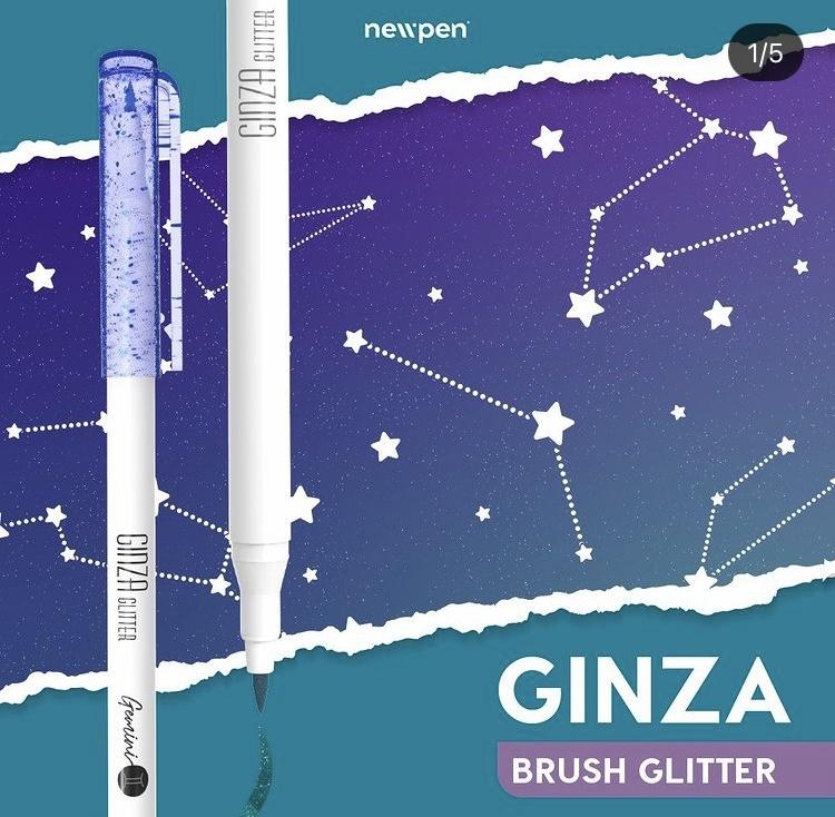 Brush Glitter Newpen Com 12
