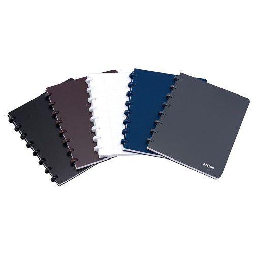 Caderno A4 Pautado Polypro Marrom Atoma