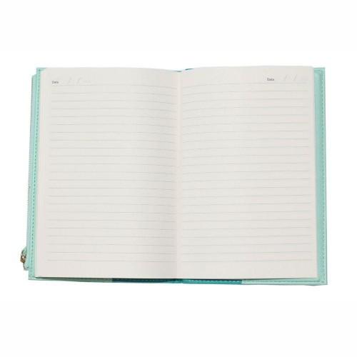 Caderno A5 Bee Com Estojo Azul Beach