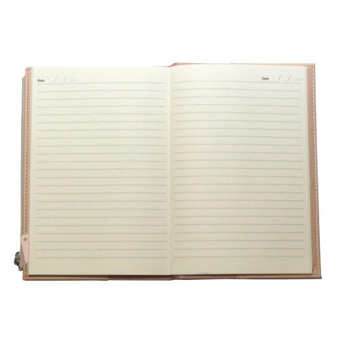 Caderno A5 Bee Com Estojo Bege