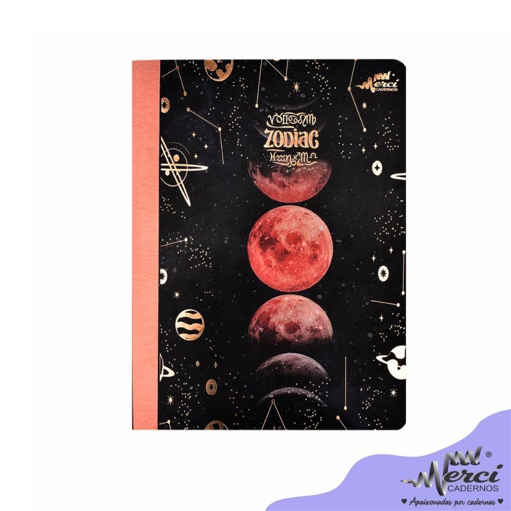 Caderno Brochura Zodiac Merci Tamanho Colegial
