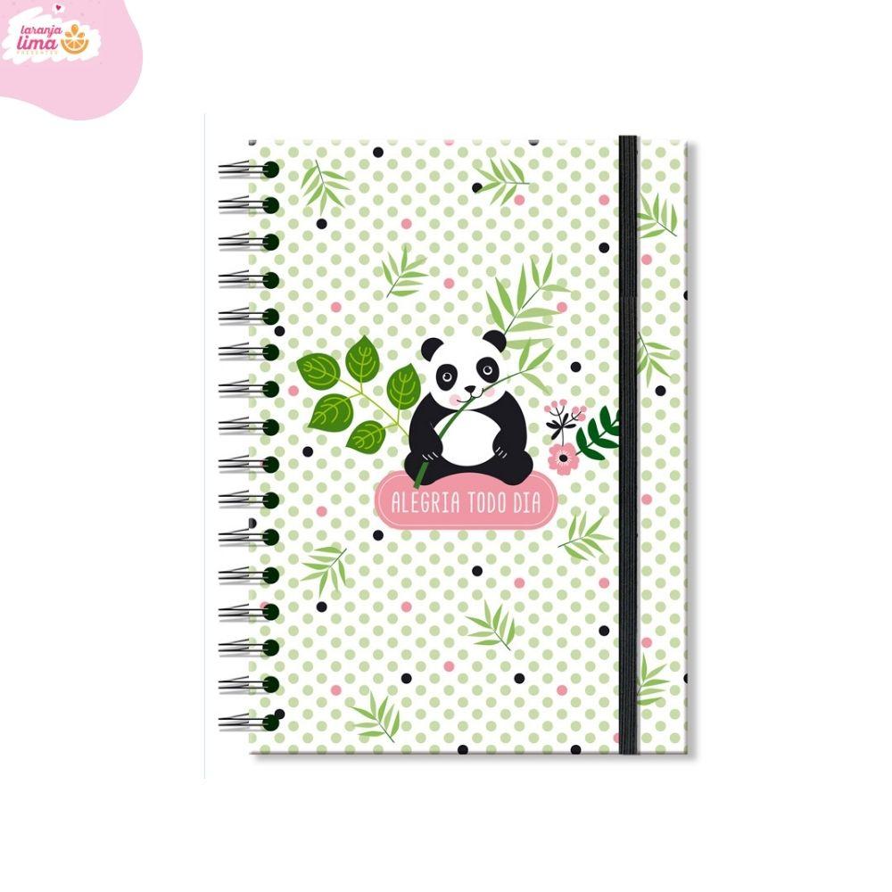 Caderno Clássico Panda Fina Ideia