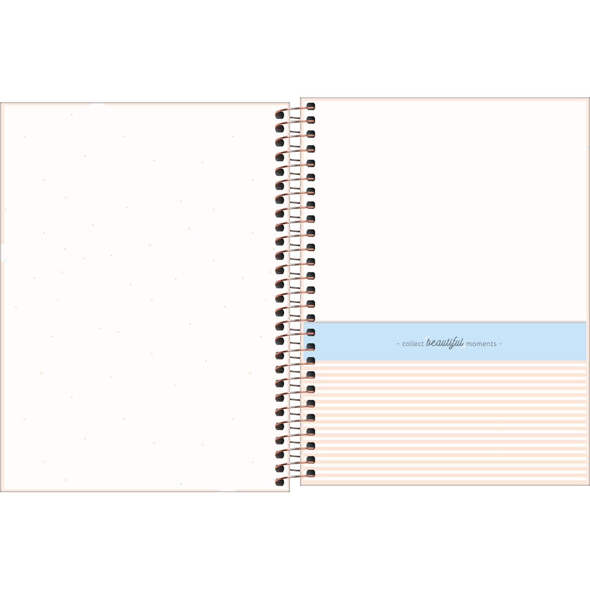 Caderno Colegial 10 Matérias Soho Tilibra