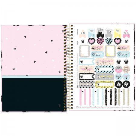 Caderno Colegial 1M Minnie