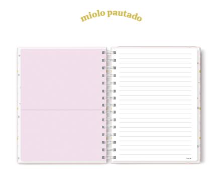 Caderno Colegial You Can Candy Planos Pontilhados