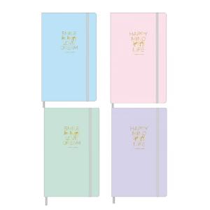 Caderno Costurado Bullet Journal Happy Pontilhado 80Fls