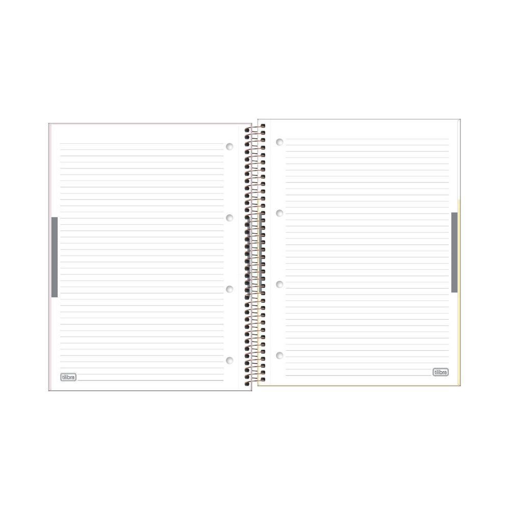 Caderno Espiral A4 1Matéria Happy 90g Tilibra
