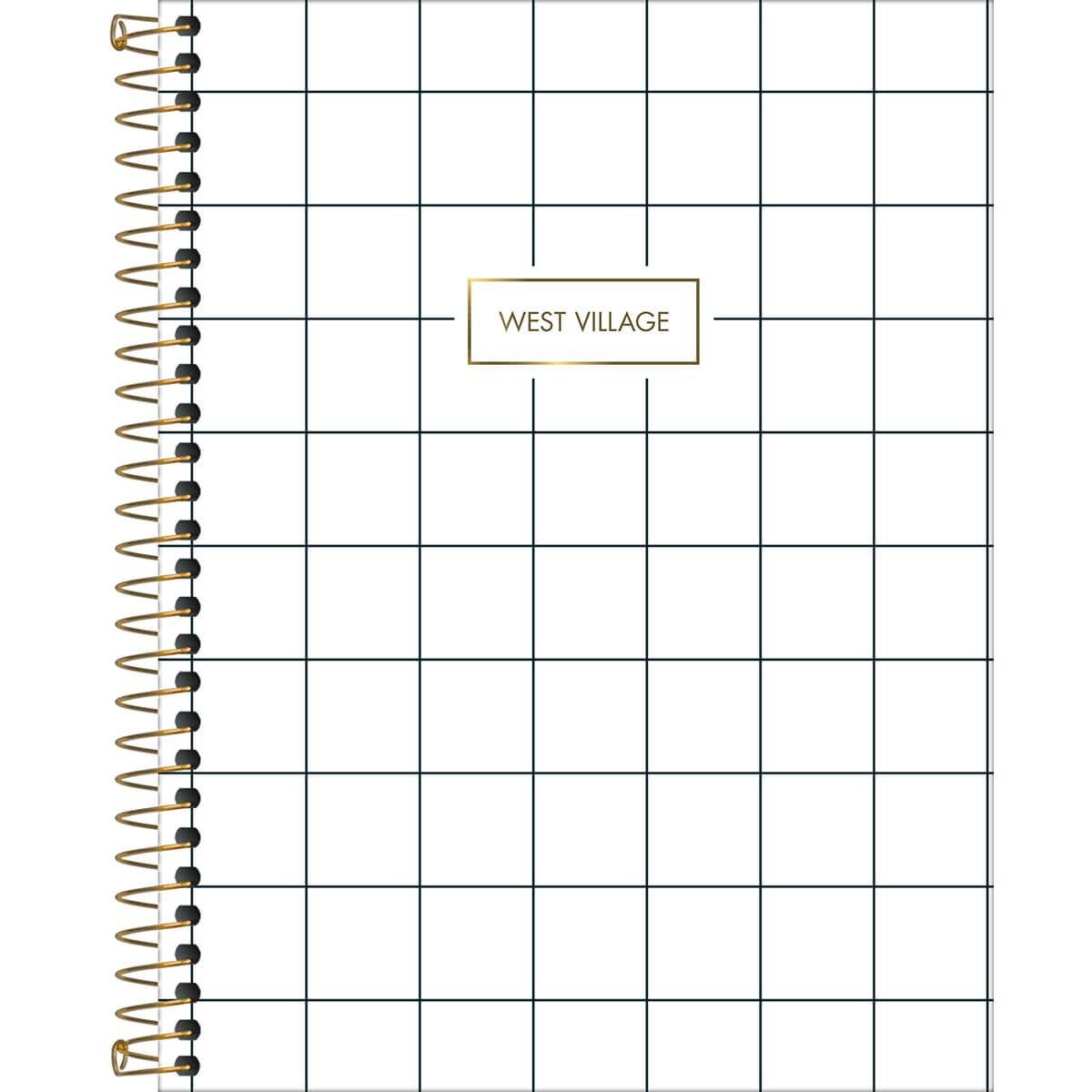 Caderno Espiral WEST VILLAGE Colegial 1 Materia