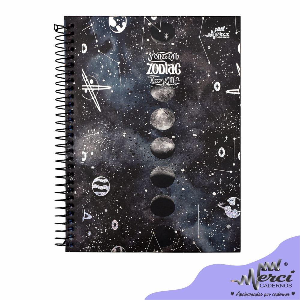 Caderno Espiral Zodiac Merci Tamanho Colegial