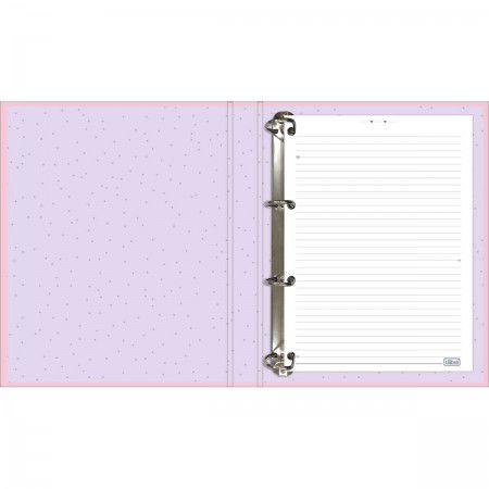 Caderno Fichario A4 Happy