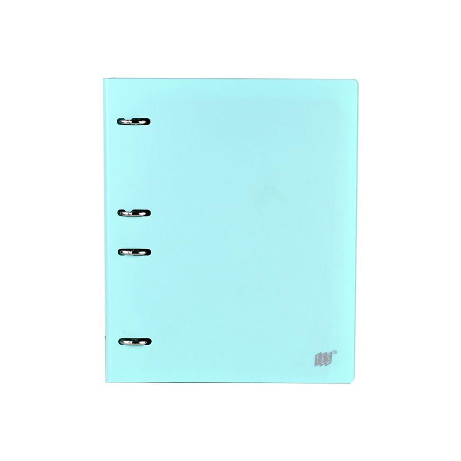Caderno Fichario Yes B5 Colegial Pastel