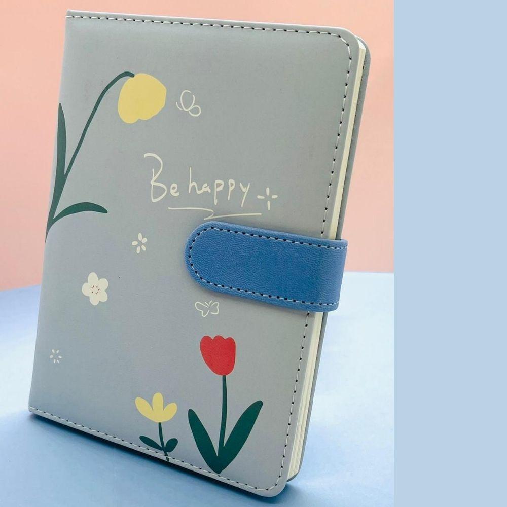 Caderno Flowers Puff para Bullet Journal