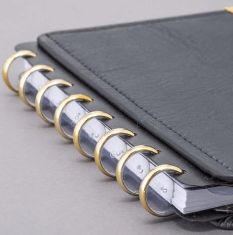 Caderno Inteligente Disco Dourado M 23mm