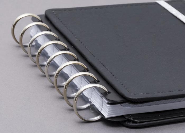 Caderno Inteligente DISCO + Elastico Prata G