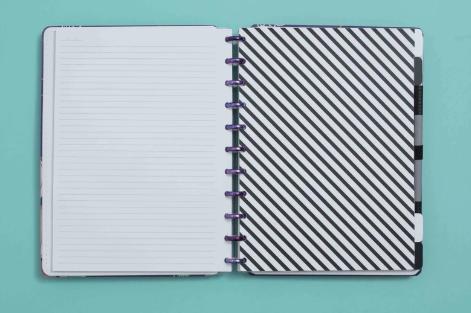 Caderno Inteligente Divisorias P&B Grande