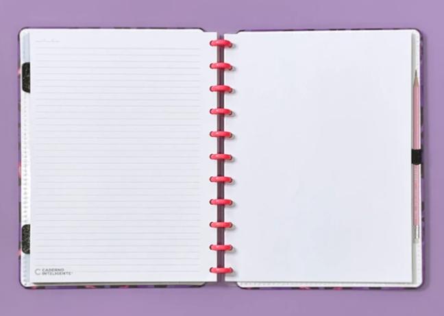 Caderno Inteligente Lilac Grande