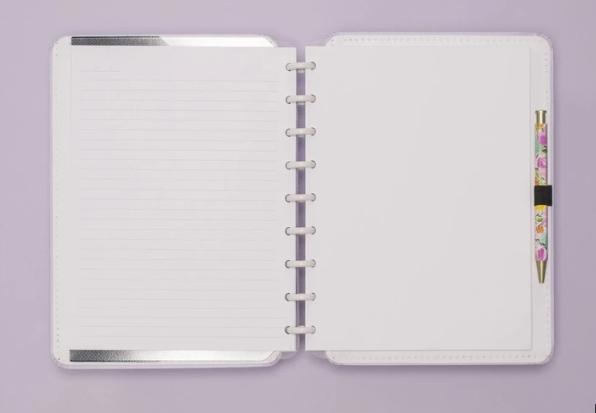 Caderno Inteligente Lilas Pastel Medio