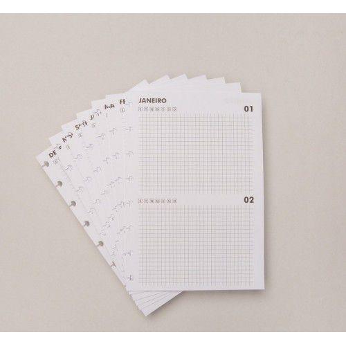 Caderno Inteligente REFIL Agenda