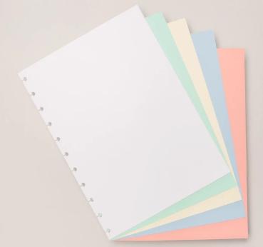Caderno Inteligente REFIL Colorido Grande