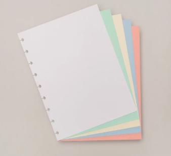 Refil Caderno Inteligente Colorido Médio