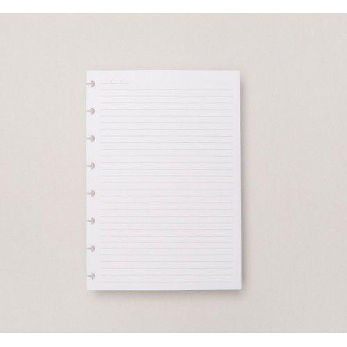 Caderno Inteligente REFIL Pautado A5-