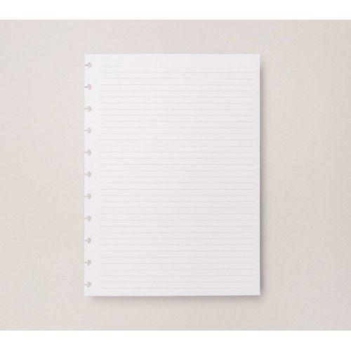 Caderno Inteligente REFIL Pautado Grande