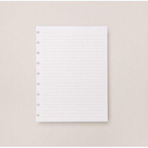 Caderno Inteligente REFIL Pautado Medio