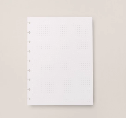 Refil Caderno Inteligente Pontilhado Medio