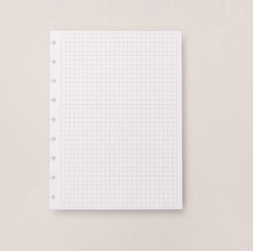 Refil Caderno Inteligente Quadriculado Medio