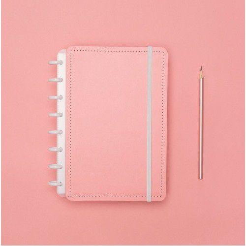 Caderno Inteligente Rose Pastel A5