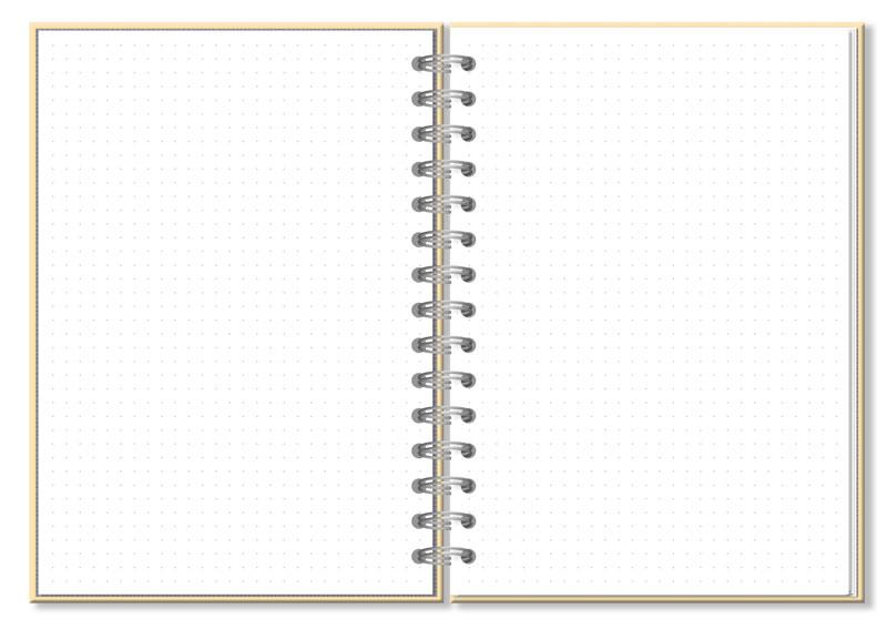 Caderno Pontilhado Corações Holográficos Fina Ideia