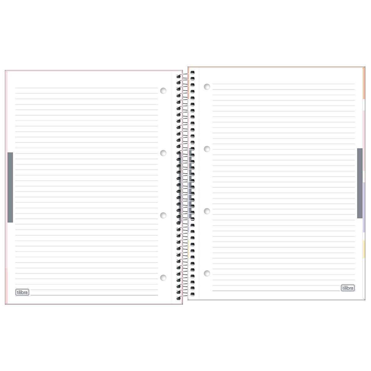 Caderno Universitário 10 Matérias Happy Tilibra
