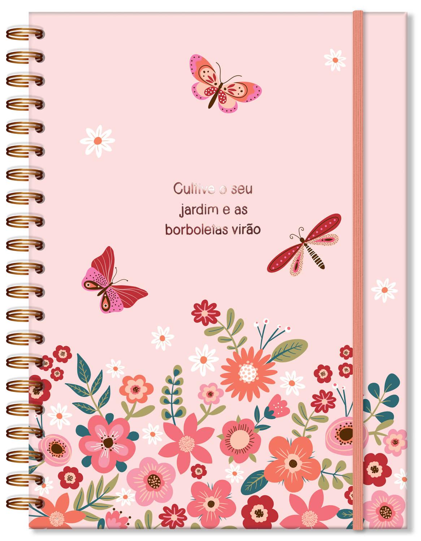 Caderno Universitário Borboletas 96fls