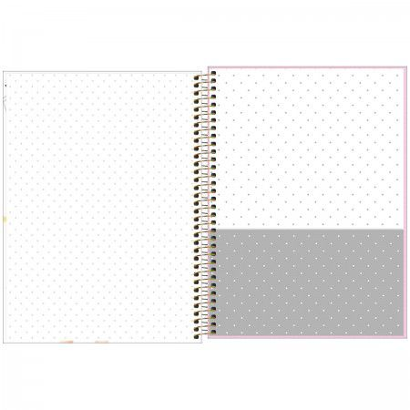 Caderno Universitario Hi Girls 10M 160fls