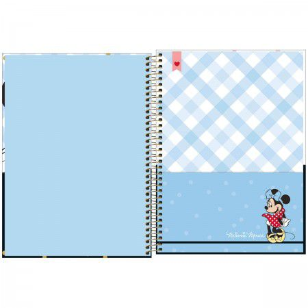Caderno Universitario Minnie 10M 160Fls