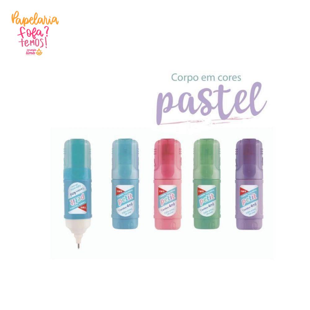 Caneta Corretiva Petit Pastel Tris