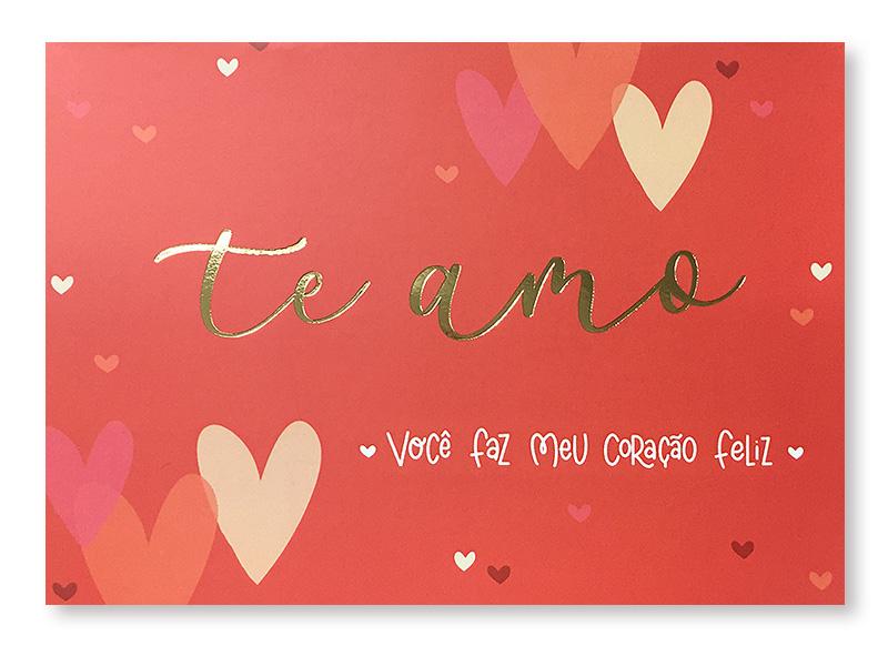 Cartão Essencial Te Amo