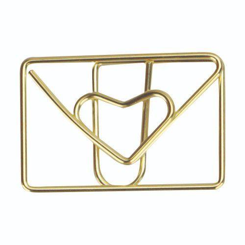 Clips Especial Envelope Apaixonado C/ 12