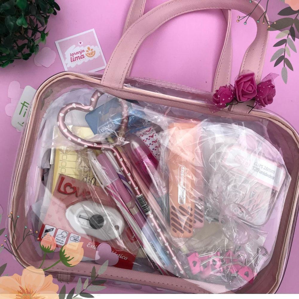 Kit Dia Das Mães Com Maleta Cristal