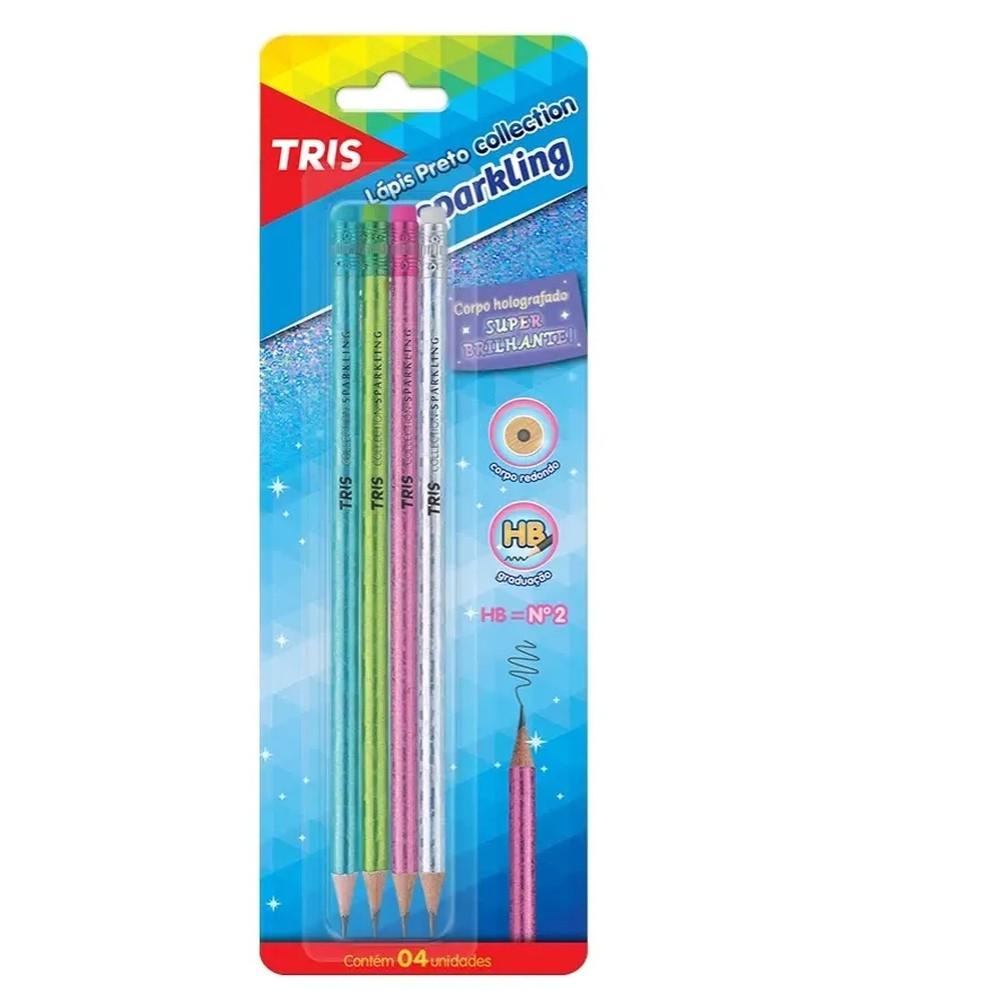 Lapis Tris Colection Sparkling Com 4