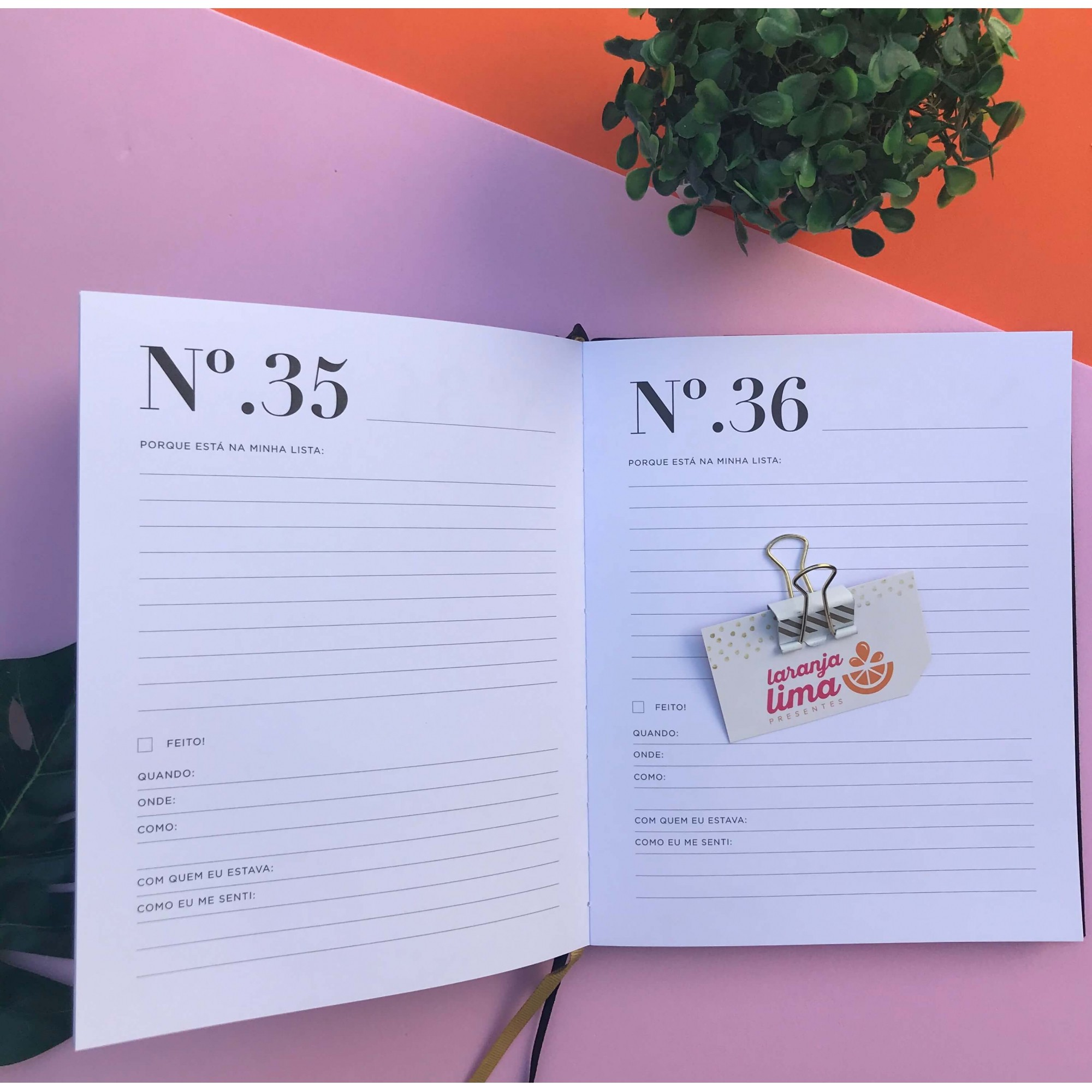 Livro Bucket List Dac