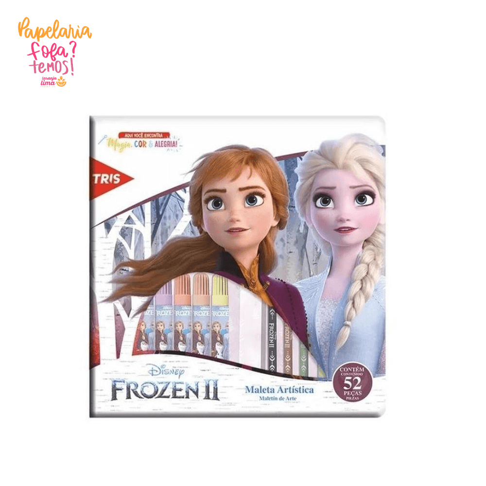 Maleta Artistica Frozen 52 Peças Tris