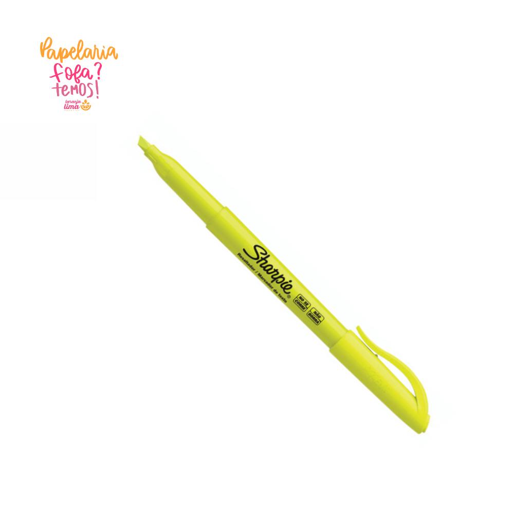 Marca Texto Sharpie Pocket Amarelo Fluorescente