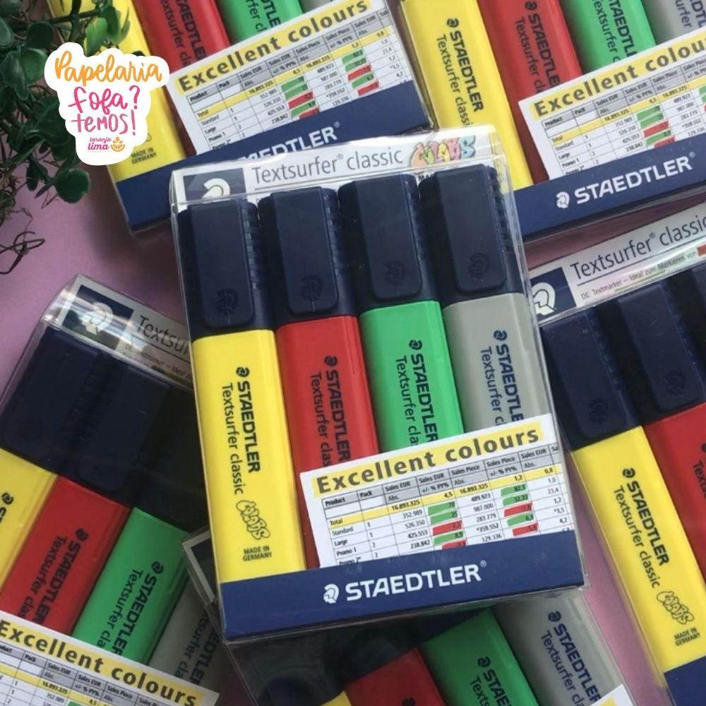 Marca Texto STAEDTLER Textsurfer Excellent Colours Com 4