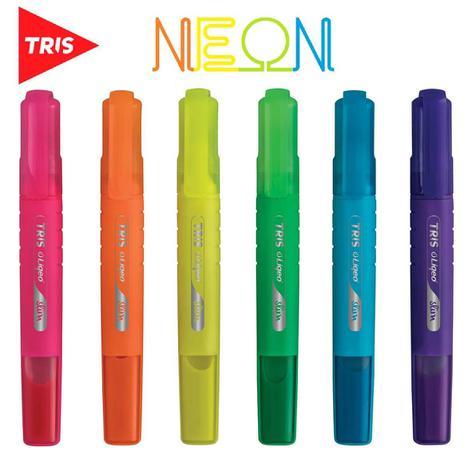 Marca Texto Tris Liqeo Slim Neon